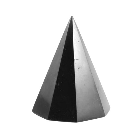 Schungit-Pyramide achtkantig-0