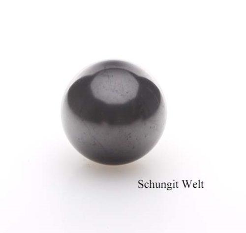 Schungit-Kugel poliert-0