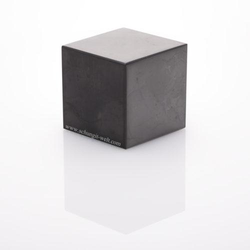 Schungit-Würfel poliert-8cm-0