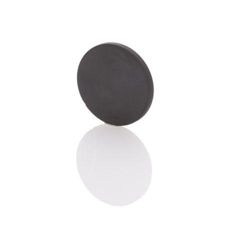 Schungit-Scheibe 5cm poliert-0
