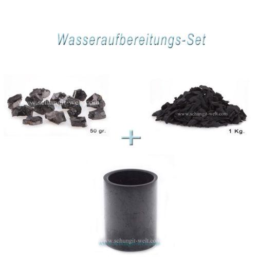 Schungit-Wasseraufbereitungs-Set -0