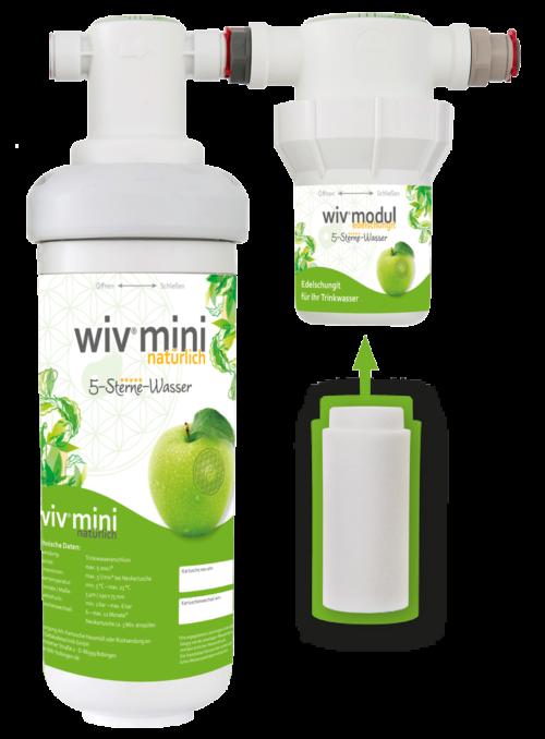 Wasserfilter WiV mini mit Edel-Schungit-0
