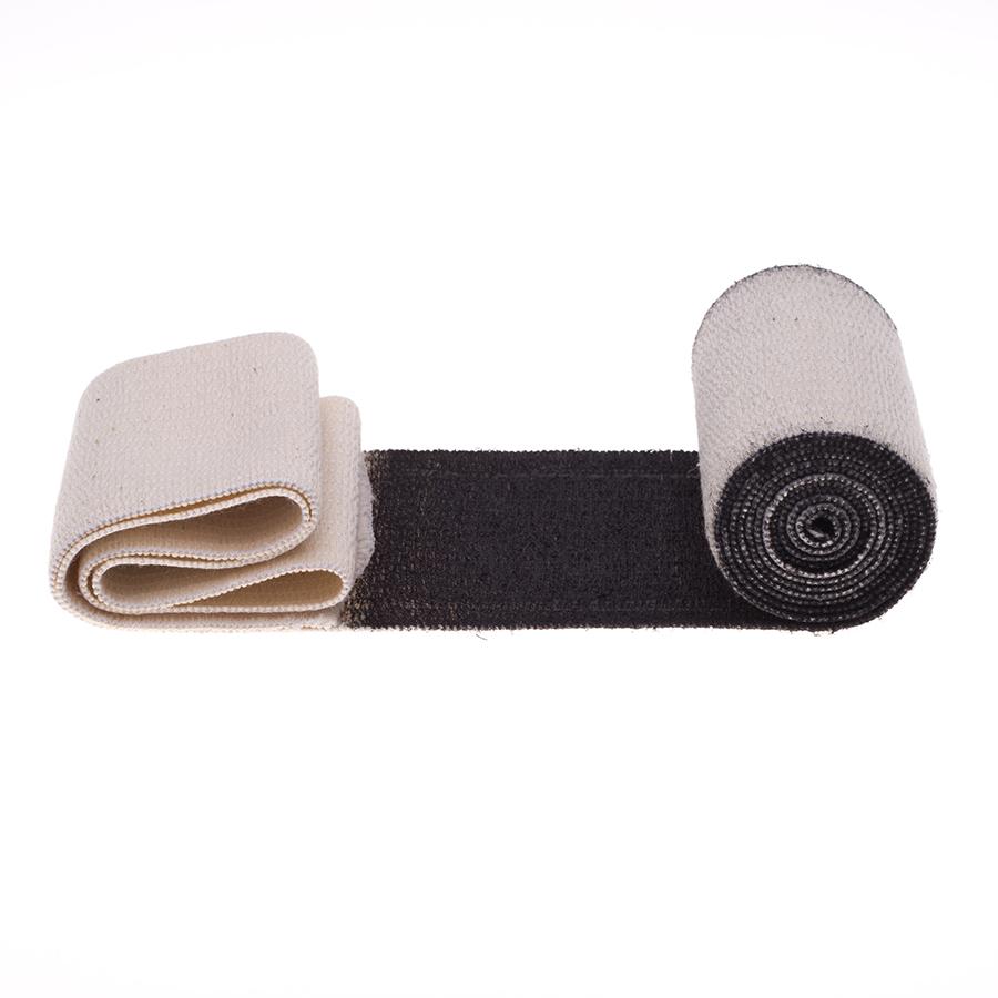 Schungit-Binde, Fixierbinde elastisch 1,5 m-0